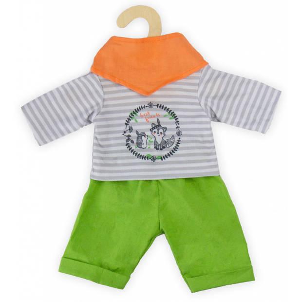 Heless poppenkleding outfit Foxy 35-45 cm 3 stuks