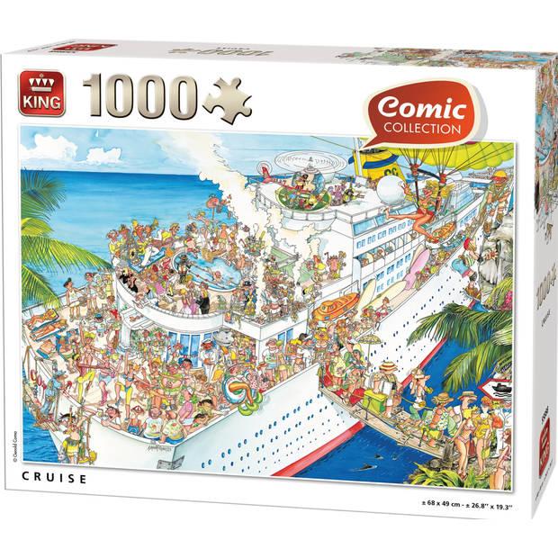 King legpuzzel Cruise karton 1000 Stukjes