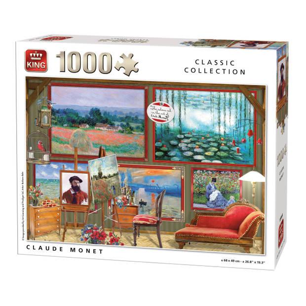 King Legpuzzel Claude Monet 1000 Stukjes