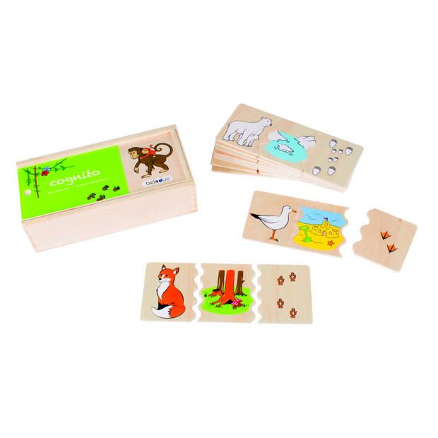 beleduc legpuzzel cognito - dieren 30 stukjes
