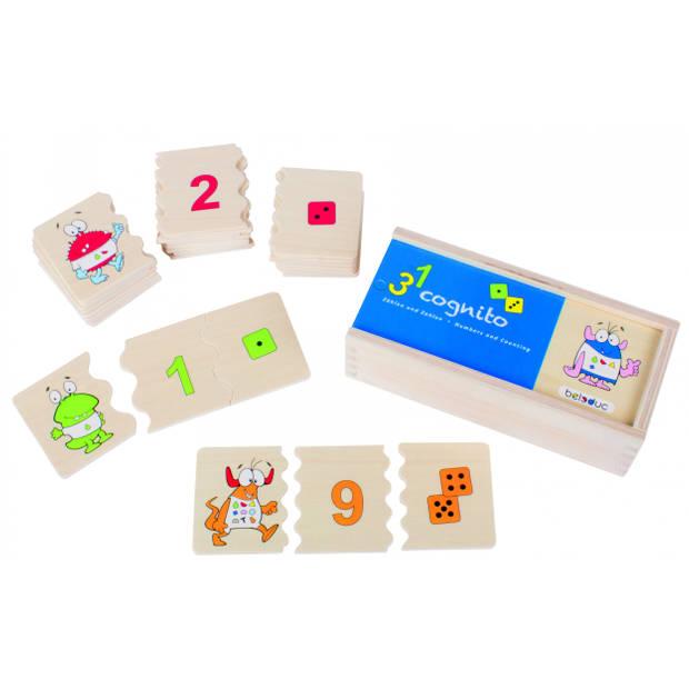 beleduc legpuzzel cognito - nummers en tellen 30 stukjes
