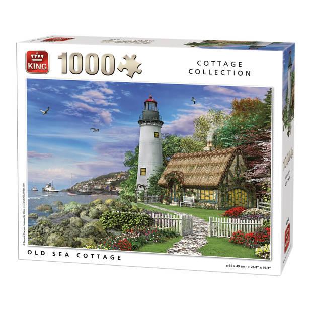 King Legpuzzel Old Sea Cottage 1000 Stukjes
