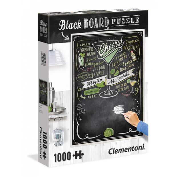 Clementoni krijtbord-puzzel Cheers 1000 stukjes