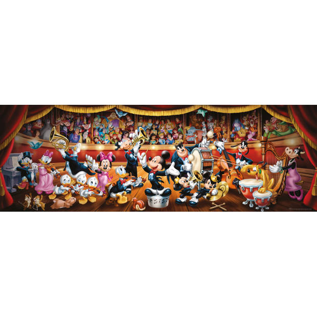 Clementoni puzzel Panorama Disney orkest 1000 stukjes