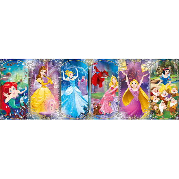 Clementoni puzzel Panorama Disney Princess 1000 stukjes