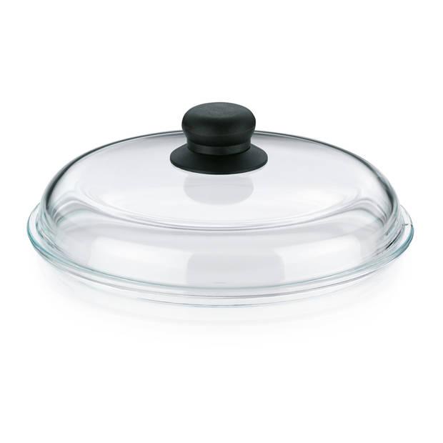 Pannendeksel Glas, 24 cm - Kela Callisto