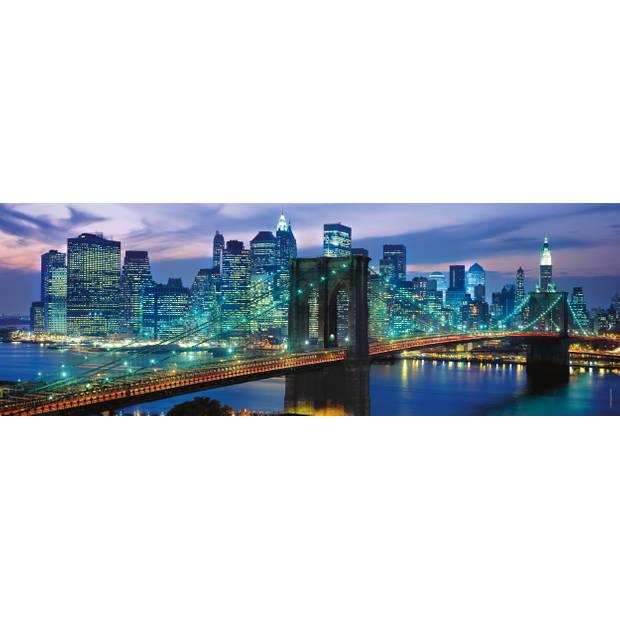 Clementoni puzzel Panorama NY Brooklyn Bridge 1000 stukjes