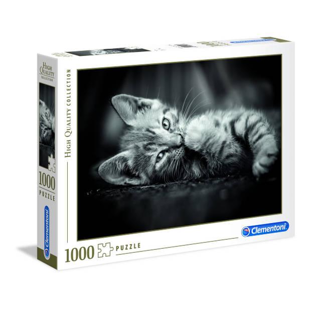 Clementoni puzzel kitten 1000 stukjes