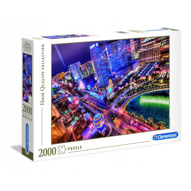 Clementoni puzzel Las Vegas 2000 stukjes