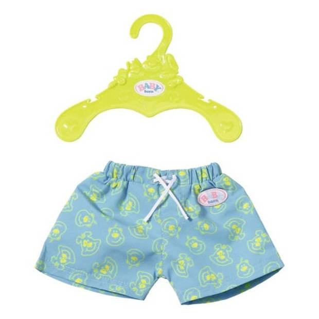 Baby born zwemshort turquoise 43 cm