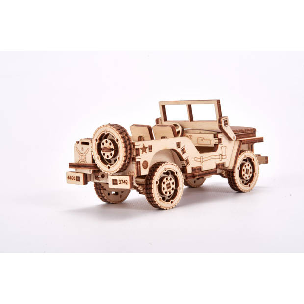 Wood Trick Jeep - Houten Modelbouw