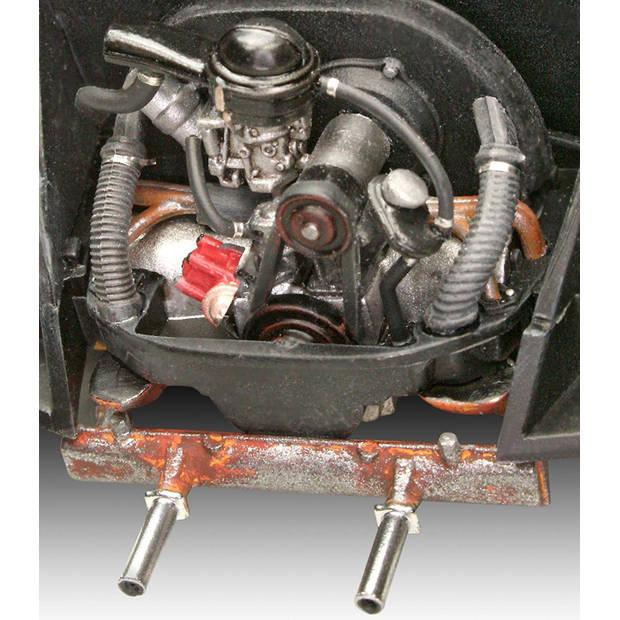 Revell modelbouwset VW Beetle Limousine 1:24 wit 125-delig