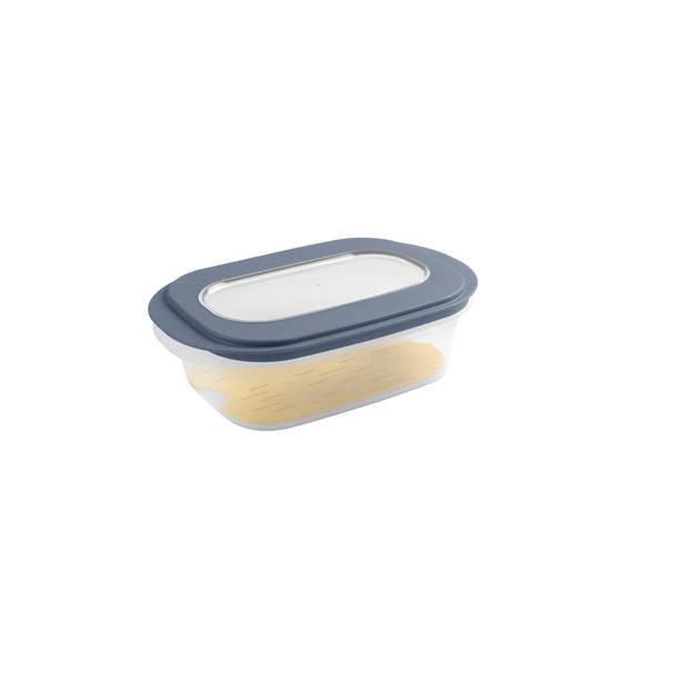 Sigma home Kaasdoos - met anti-condens tray - transp/d. blauwgrijs