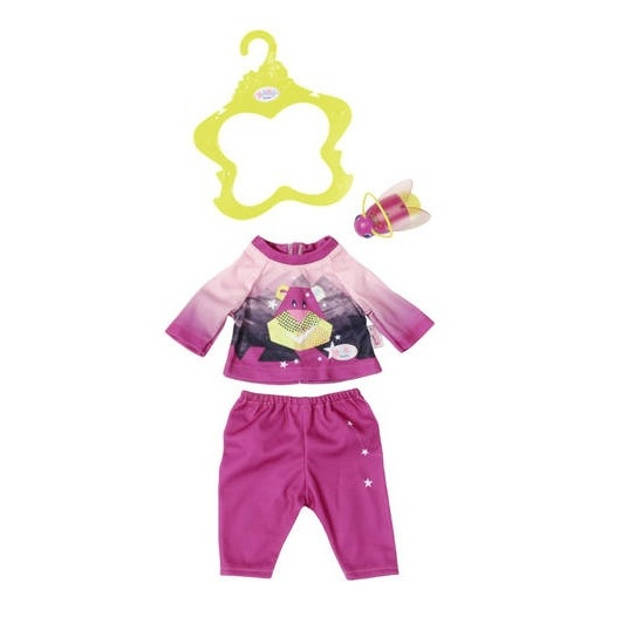 Baby born nachtoutfit Play&Fun 43 cm roze