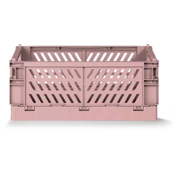 Vouwkrat Roze medium