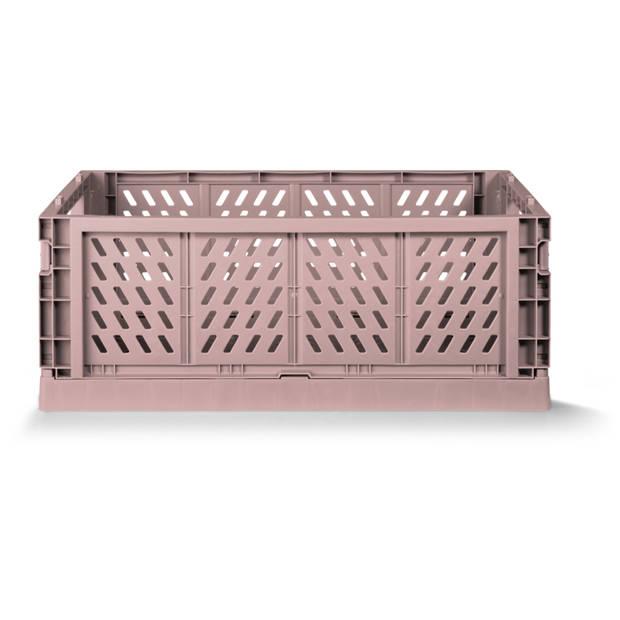 Vouwkrat Roze large