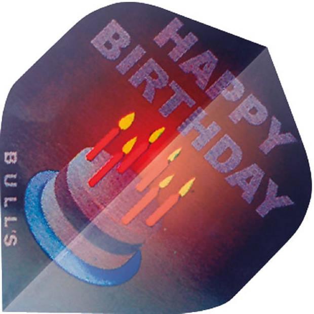 Bull's flights Motex Happy Birthday A-Standard 75 micron paars