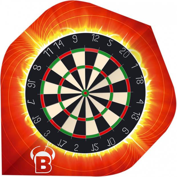 Bull's flights Motex Target A-Standard 75 micron rood