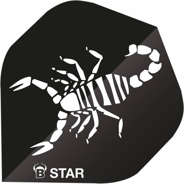 Bull's flights B-Star Scorpion A-Standard 100 micron zwart