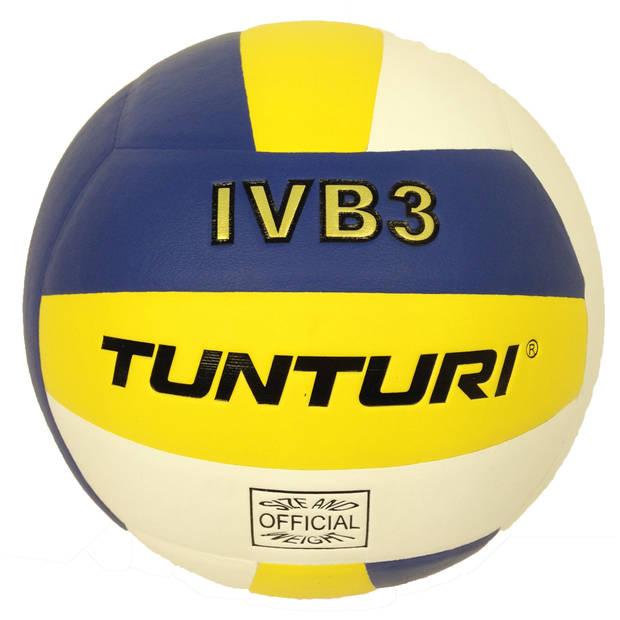 Tunturi volleybal IVB3 geel/blauw maat 5
