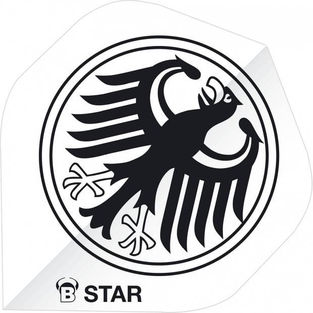 Bull's flights B-Star Eagle A-Standard 100 micron wit