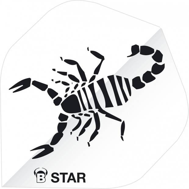 Bull's flights B-Star Scorpion A-Standard 100 micron wit