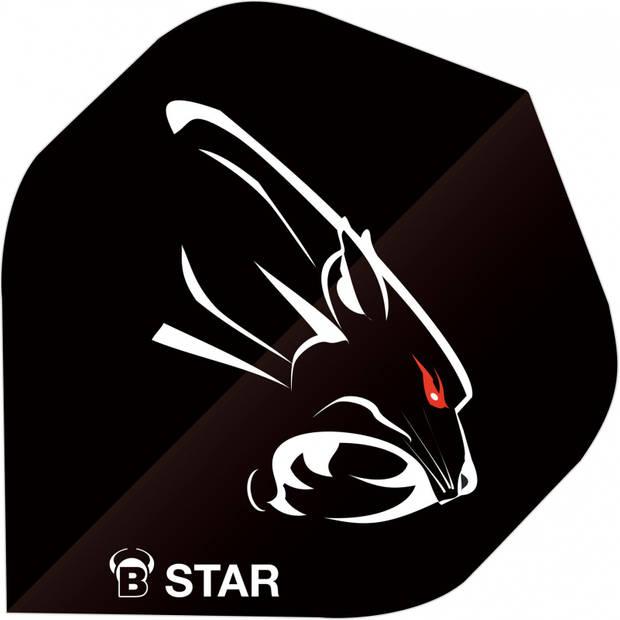 Bull's flights B-Star Panther A-Standard 100 micron zwart
