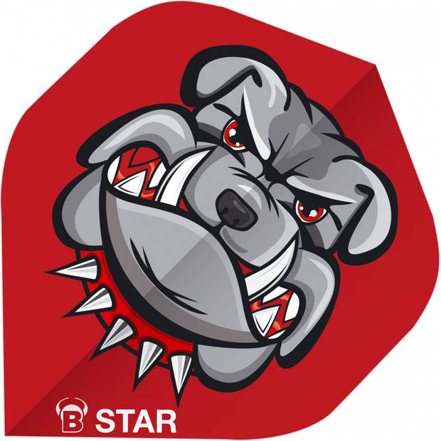 Bull's flights B-Star Bulldog A-Standard 100 micron rood