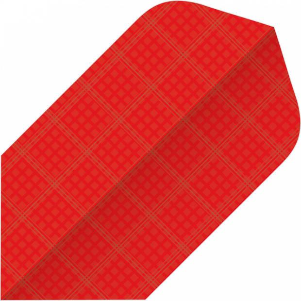 Bull's flights Nylon Slim 150 micron rood