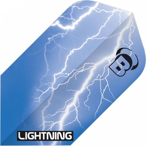 Bull's flights Lightning Slim 100 micron blauw