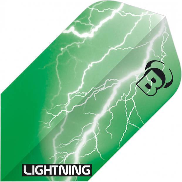 Bull's flights Lightning Slim 100 micron groen