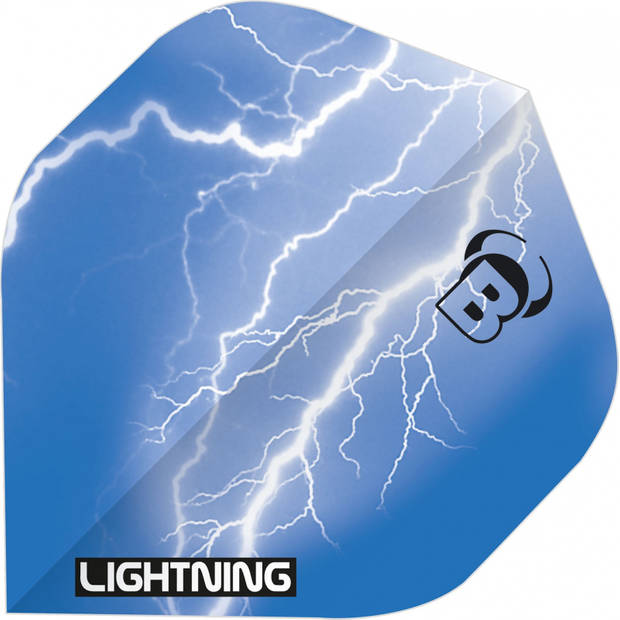 Bull's flights Lightning A-Standard 100 micron blauw