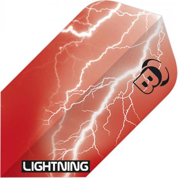 Bull's flights Lightning Slim 100 micron rood