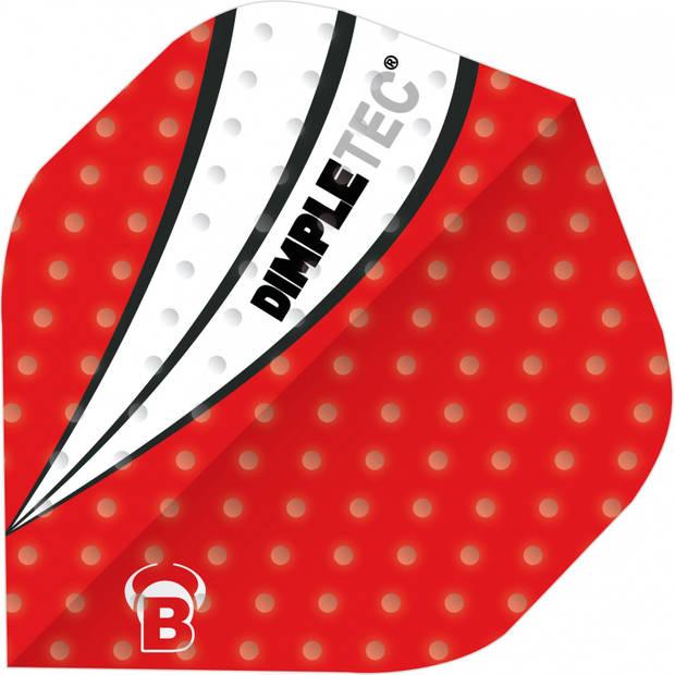 Bull's flights Dimpletec B-Standard 100 micron rood