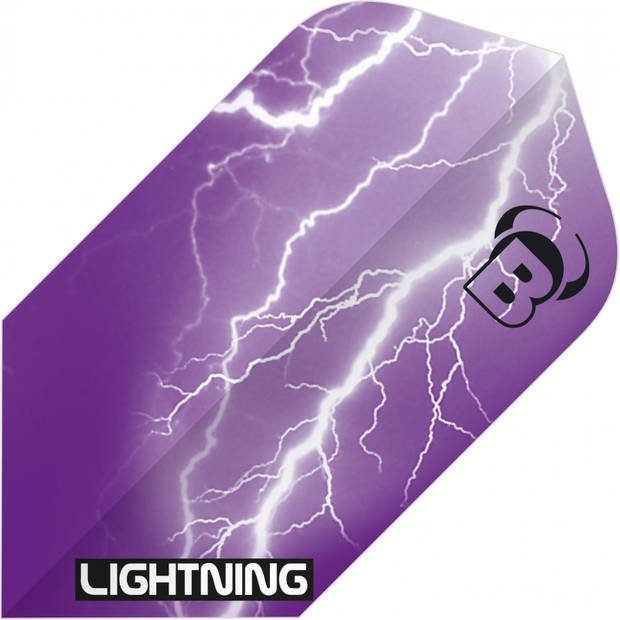 Bull's flights Lightning Slim 100 micron paars