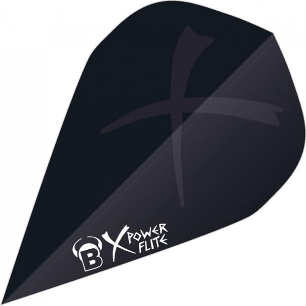 Bull's flights X-Powerflite Drop 150 micron zwart