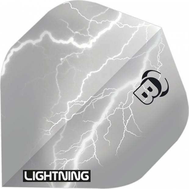 Bull's flights Lightning A-Standard 100 micron grijs