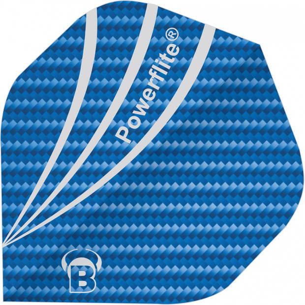 Bull's flights Powerflite A-Standard 100 micron blauw
