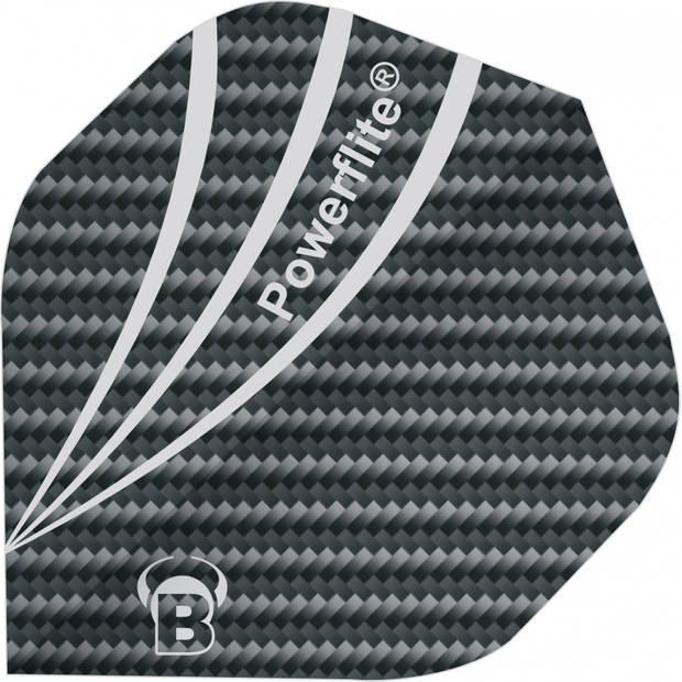 Bull's flights Powerflite A-Standard 100 micron zwart