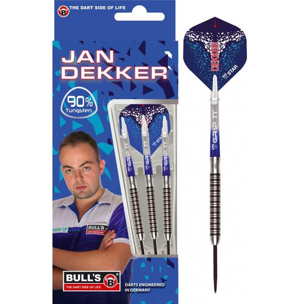 Bull's dartpijlen Jan Dekker steeltip 90%