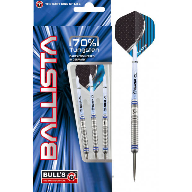 Bull's dartpijlen Ballista steeltip 70%