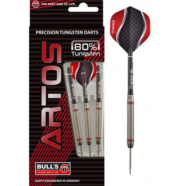 Bull's dartpijlen Artos AR3 steeltip 80% gewicht 24 gram