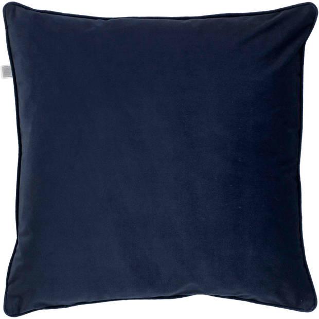 Dutch Decor Kussenhoes Finn 70x70 cm donkerblauw