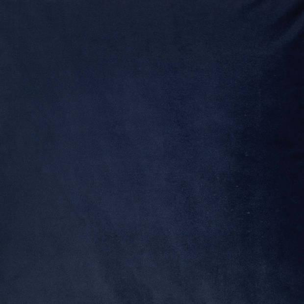 Dutch Decor Kussenhoes Finn 45x45 cm donkerblauw