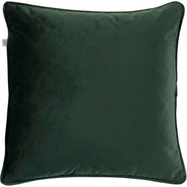 Dutch Decor Kussenhoes Finn 45x45 cm groen