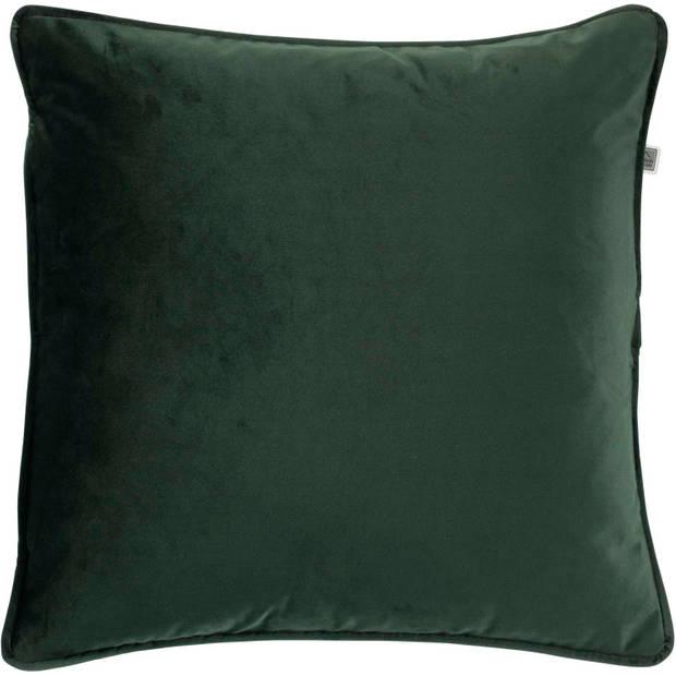 Dutch Decor Sierkussen Finn 45x45 cm groen