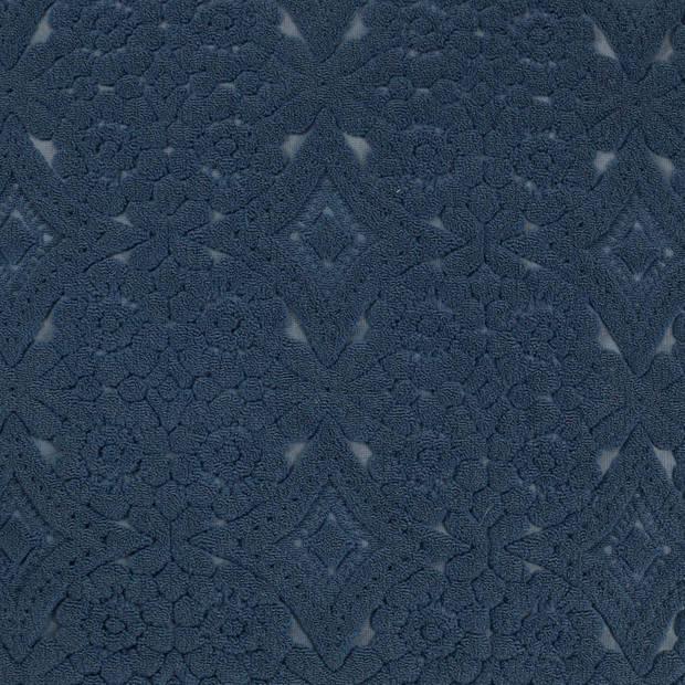 Dutch Decor Sierkussen Babet 45x45 cm donkerblauw