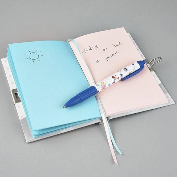 Floss & Rock Unicorn - dagboek met geurpen - Multi