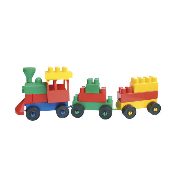 Paradiso Toys bouwblokken 200-delig