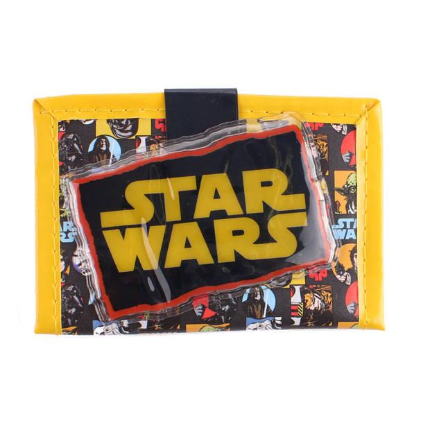 Disney portemonnee Star Wars 11,5 cm geel